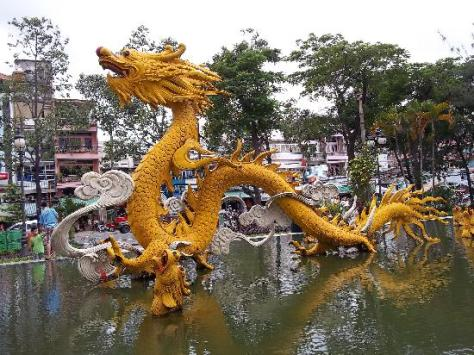 The Chinese District of Ho Chi Minh