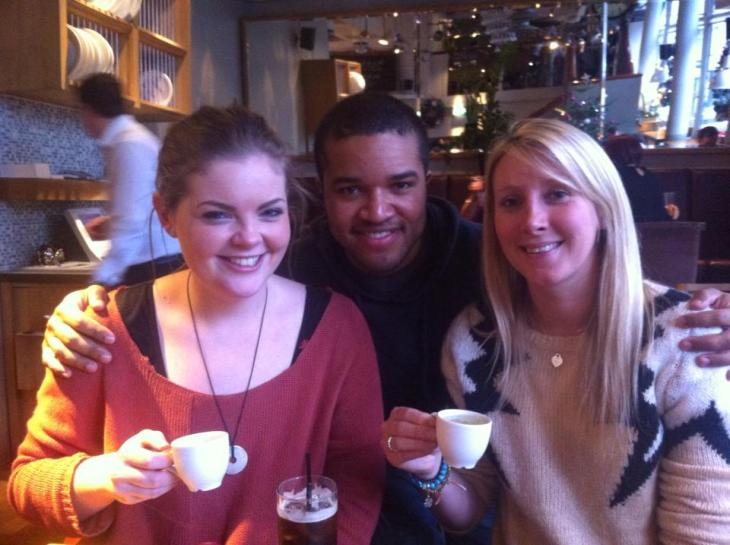 Pip, Myself, and Danni. Arusha reunited!
