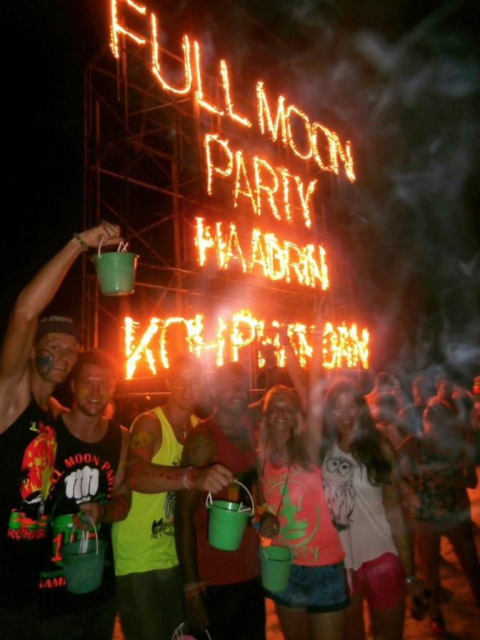 How to Survive a Full Moon Party