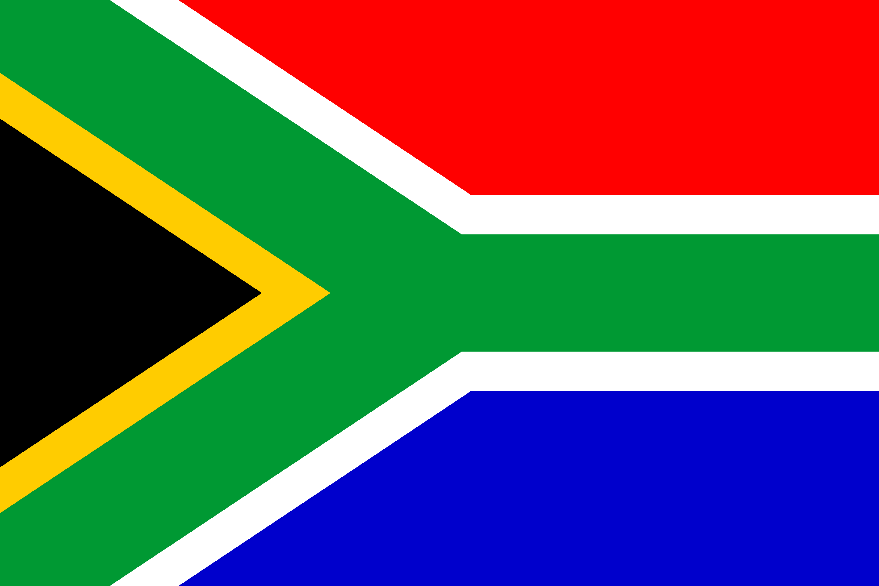 how to draw the south african flag step by step