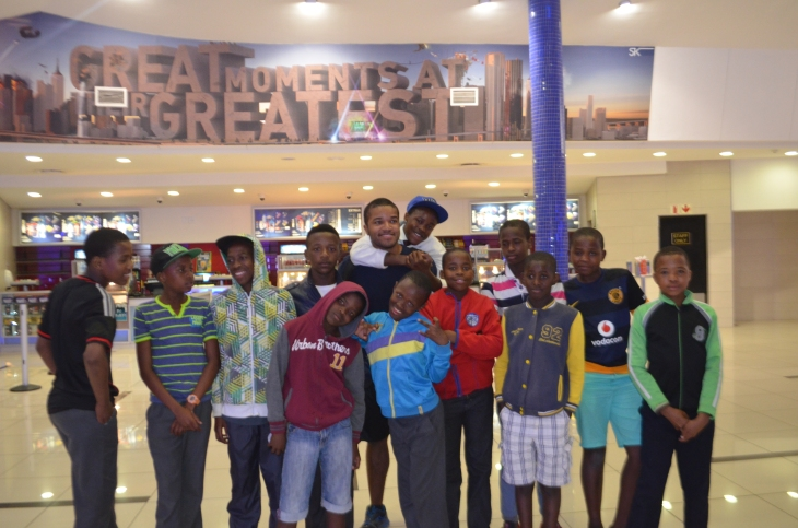 From L to R: Atha, Ski, Happy, Chester, Simphiwe, Myself, RiRi, Mawande, Wande, Asive, Nande, Aphiwe, and Lithando.