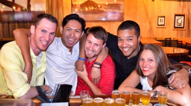 Kayakin Kids and the Beer Crawl Master