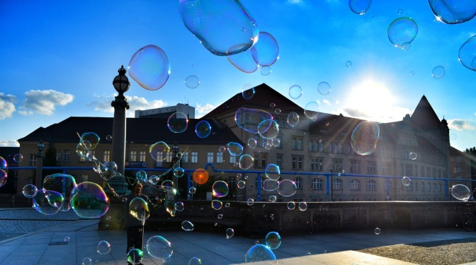 The Bubble Bobbler in Berlin
