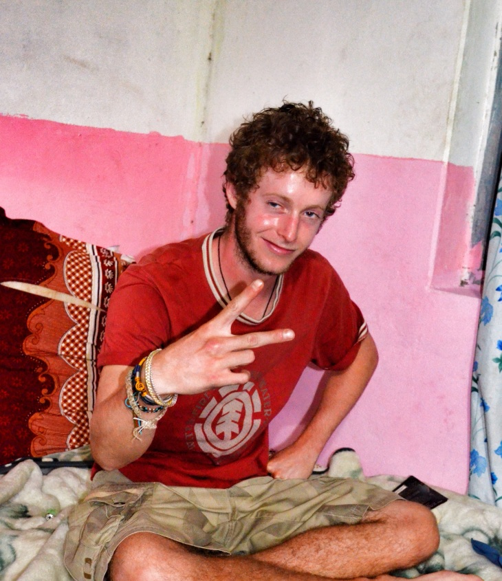 Tim (France). Another volunteer who is rooming with us.