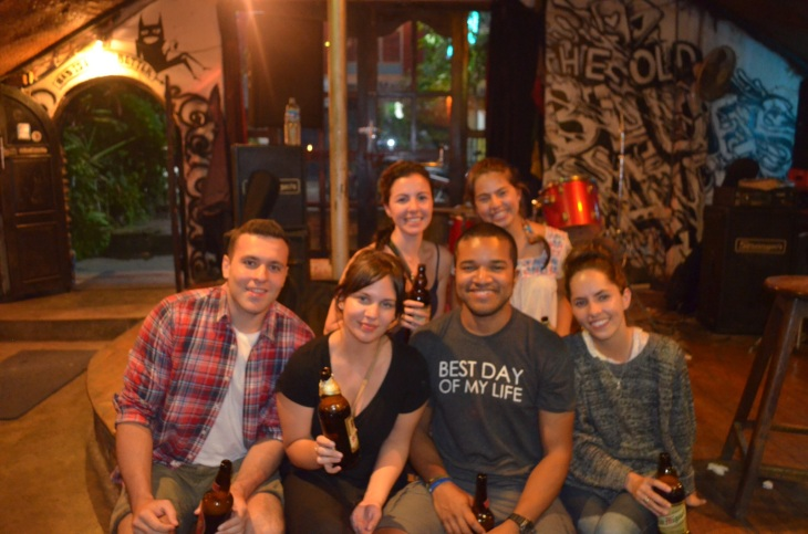From L to R: Emre, Jess, Alexis, Myself, Natalya (another volunteer), and Tane
