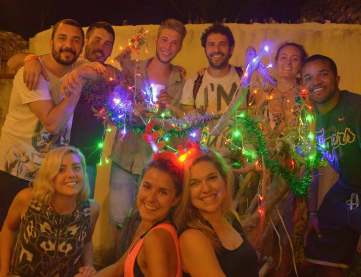 Top Row: Marco, Mark, Lionel, Valerio, Ellie, Me Bottm Row: Laura, Katie, Carly