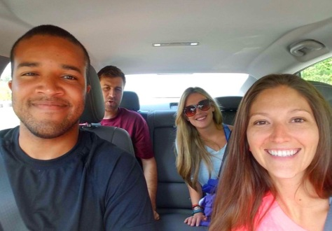 My unsuspecting crew thinking we were going to Juneau, Alaska...