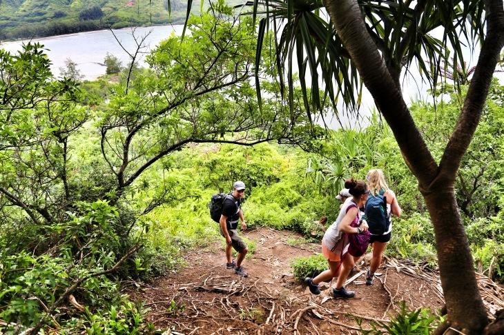Crouching Lion Hike Oahu