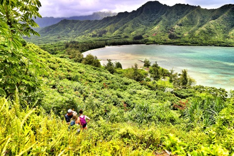 Crouching Lion Hike Oahu