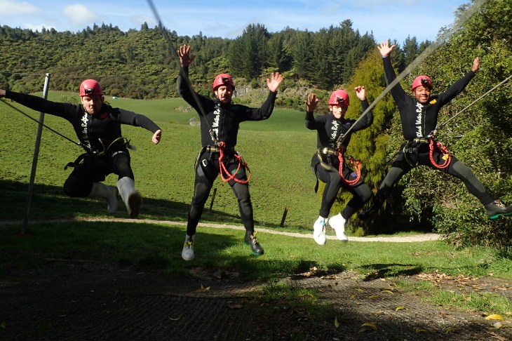 legendary black water rafting waitomo