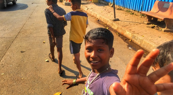 The Curious Kids Who Led Me Through The Slums of Mumbai