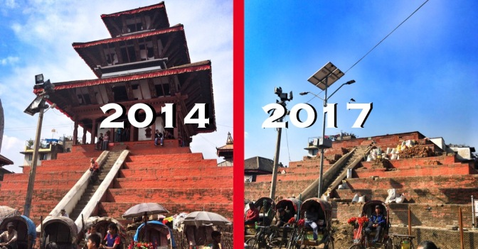 Returning to Kathmandu: Before and After The Earthquakes