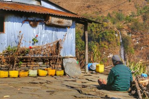 annapurna base camp trek nepal poon hill chhomrong
