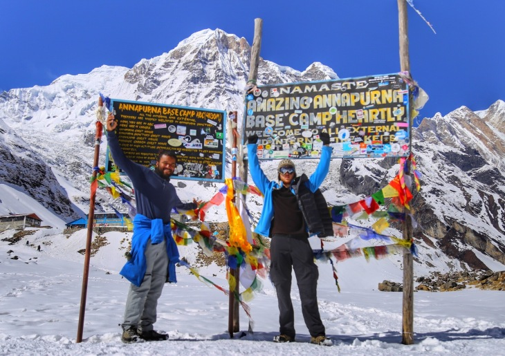 annapurna base camp trek nepal poon hill himalayas mounting hike