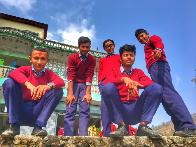 Living in Nepal…With 18 Teenage Students That I Thought I Hated