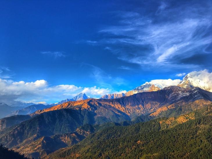 annapurna base camp nepal trekking himalayas