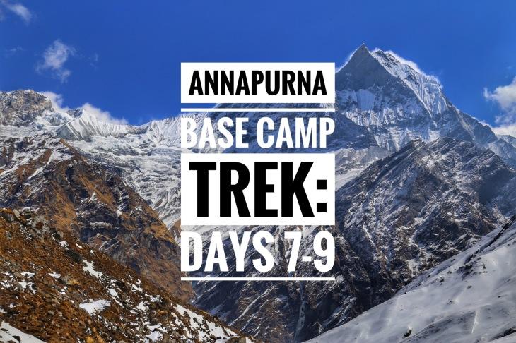 annapurna base camp poon hill nepal trekking himalayas