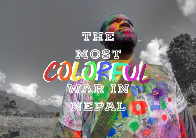 The Most Colorful War In Nepal